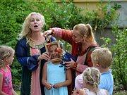 Loutková pohádka bavila děti minulou sobotu.
