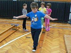 Děti od tří do sedmi let se připravují připravují v projektu ŠAMPION do sportovního života rozvojem základních pohybových schopností a dovedností.