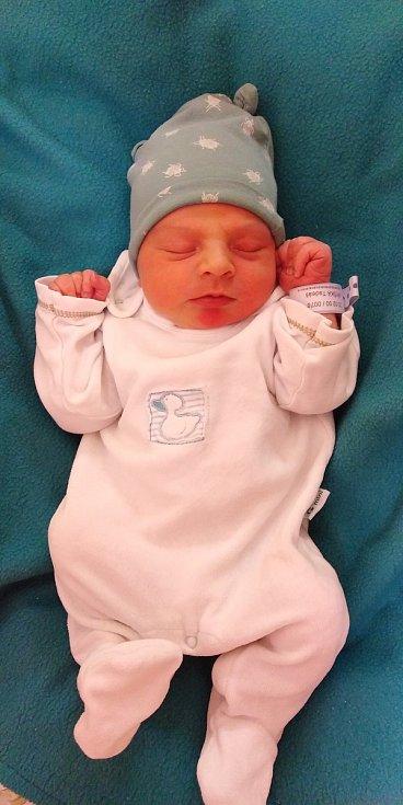 Tadeáš Myška se narodil 10. února 2021 ve 22. 10 hodin v čáslavské porodnici. Pyšnil se porodní váhou 3360 gramů a délkou 50 centimetrů. Doma na Seči se z něj těší maminka Andrea a tatínek Jiří.