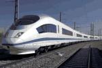 Vizualizace vysokorychlostního vlaku.