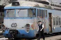 Ve starém pantografu si v sobotu 15. října lidé zavzpomínají na dřívější standard v cestování po české železnici.
