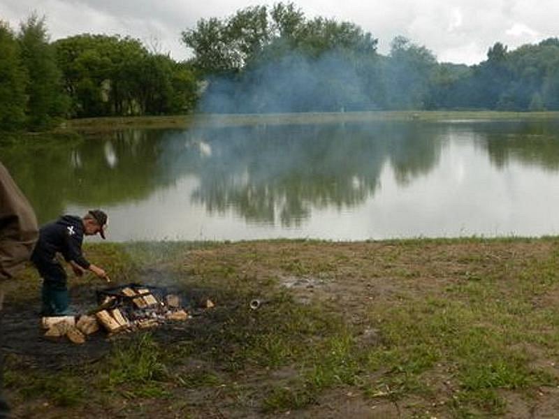 Rybářské závody v Přestavlkách.