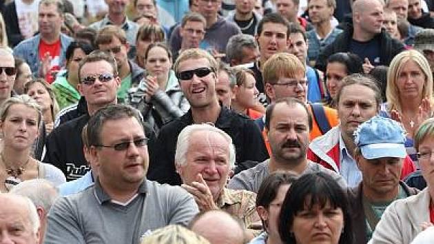 Ve středu 21. září se konal demonstrativní pochod starostů menších měst a obcí Prahou na podporu novely zákona o financování obcí.