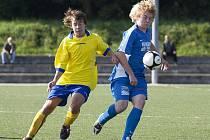 Fotbalový zápas I. A třídy dorostu Benešov B - Měchenice