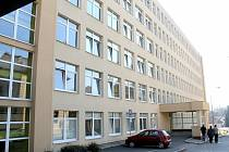 Pavilon interní medicíny v areálu benešovské nemocnice.