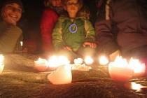 V rámci akce Keltský telegraf rozsvítí zájemci na Velkém Blaníku svíčky.FOTO: archiv Karolíny Joskové