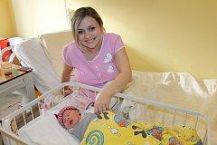 Manželé Denisa a Jan Vondrákovi se od 28. ledna radují z prvorozené dcerky Nely Vondrákové. Ta při narození ve 23.10 vážila 3 300 gramů a měřila 49 centimetrů. Rodina společně žije v Divišově.