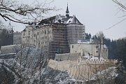Předsezonní prohlídky hradu Český Šternberk