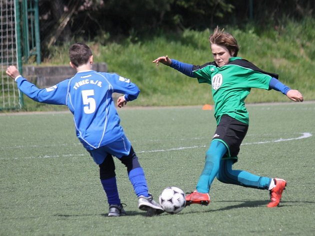 Fotbalový turnaj McDonald's Cup v Benešově.