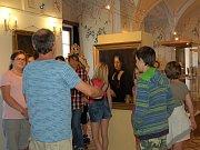 Výstava ve vlašimském zámku.