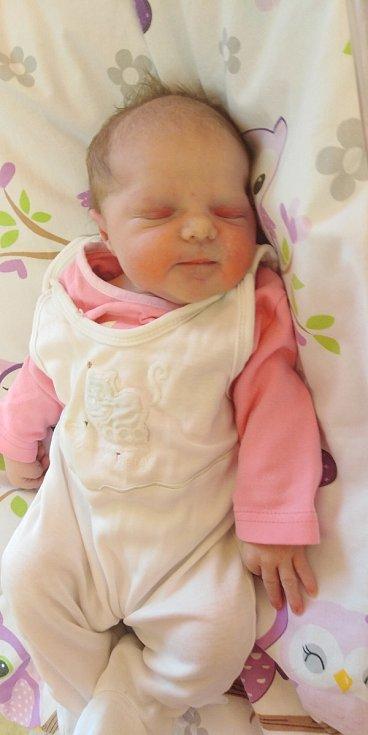 Adina Hanzlíková přišla na svět 30. března 2021 v 10. 17 hodin v čáslavské porodnici. Vážila 3400 gramů a měřila 49 centimetrů. Doma ve Vlkanči se z ní těší maminka Tereza a tatínek David.