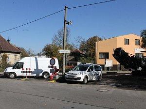 Zahájení prací na opravě ulice Jana Nohy, pondělí 16. října