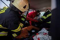 Složky IZS zasahovaly u dopravní nehody v Šenově.