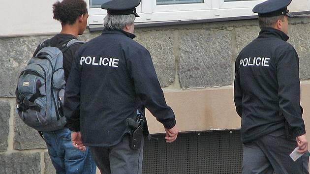 Služebna cizinecké policie. Ilustrační foto.