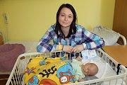 Manželé Jitka a Ondřej Plaší se od 16. dubna radují ze svého prvorozeného synka Ondřeje Plachého. Ten se narodil ve 22.21, kdy vážil 3 550 gramů a měřil 52 centimetrů. Rodina žije v obci Libež.