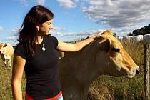 Krusičanská farma nabízí maso z domácího chovu.