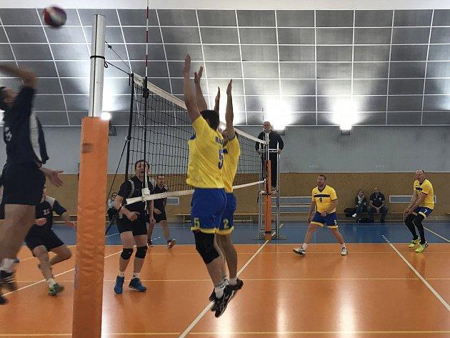 KP volejbalu: Benešov - Tuchlovice