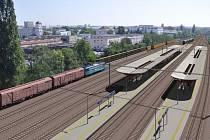 Současná a budoucí podoba hostivařského nádraží.