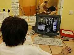 Pracoviště magnetické rezonance.