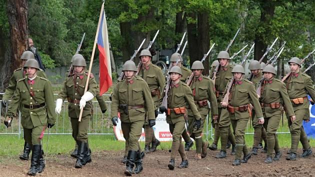 Pěchota prvorepublikové československé armády.