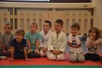 Kurz juda a sebeobrany v Mateřské škole MiniSvět v Mrači.