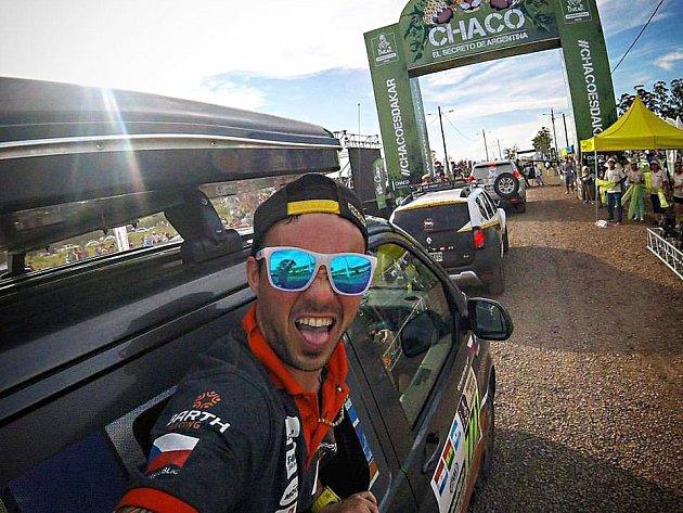 Libor Podmol na Dakaru.