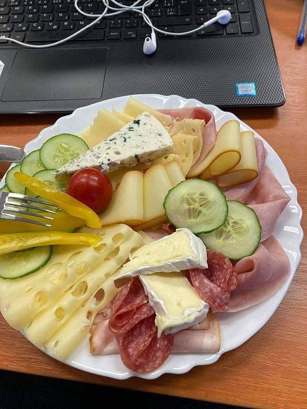 Občerstvení ve Smilkově.
