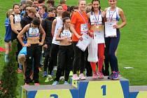 Vlašimská atletka Alice Přibylová se v Břeclavi stala mistryní České Republiky v oštěpu žákyň.