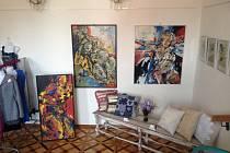 Výstava řemesel Ta umí to a ten zas tohle ve Vlašimi pořádaná spolkem Fakt-um.