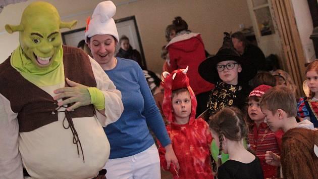 Dětský karneval v Kozmicích.