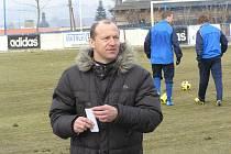 Vlašimský trenér Boris Kočí