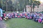 Ze třetího ročníku charitativního pochodu na Konopišti.