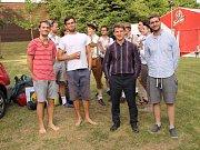 Kapelu ŠouflŠou tvoří čtyři mladí muzikanti, Jindra Chytráček, Ondra Němeček, Vojta Jasenovec přezdívaný Slávek a Kuba Semera.