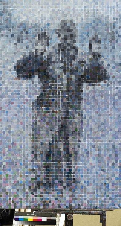 Výstavní program na rok 2018 i doprovodní programy pro letošní rok představila ve čtvrtek Galerie Středočeského kraje v Kutné Hoře – GASK. Na snímku Pavel Šmíd, Zajatec 2017.
