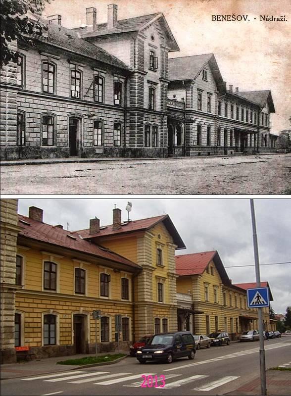 Benešov - Vlakové nádraží