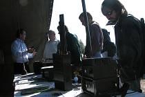 V Lešanech slavili armádní i civilní spojaři