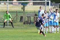V zápase nespeckého béčka s Postupicemi rozhodla poslední minuta a trestný kop Fürbachera.