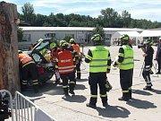 Soutěže v Německu ve vyprošťování zraněných osob zhavarovaných vozidel se zúčastnili i dobrovolní hasiči z Votic.