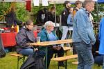 Jubilejní desátý ročník festivalu sázavských hudebníků se, byť s omezeným programem, konal v sobotu 6. června u Panské stodoly v Sázavě.