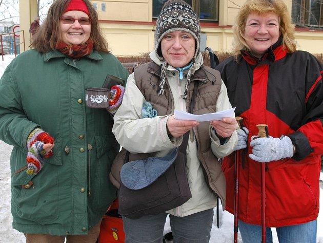 Na Novoroční čtyřlístek, turistický pochod z Benešova na Chvojen je potřeba se připravit.