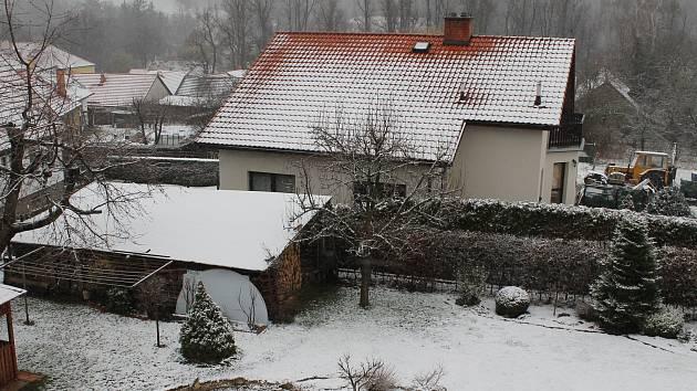 Ranní počasí na České Sibiři v sobotu 21. března 2020.