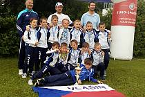 V kategorii U9 zvítězili na turnaji v Salzburgu mladí fotbalisté FC Sellier&Bellot Vlašim.