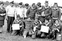 Členové Sboru dobrovolných hasičů Vranov.