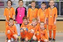 Vítězný tým Sokola Struhařov.