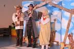 Z představení v Mateřské škole MiniSvět v Mrači o tom, co se přihodilo v Betlémě.