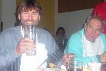 Několikanásobného rekordmana v pojídání čehokoliv Kamila Hamerského podporoval vloni jeho otec