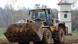 Zahájení stavby obchvatu Olbramovic 13. dubna 2021.