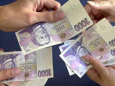 Peníze půjčka - ilustrační foto
