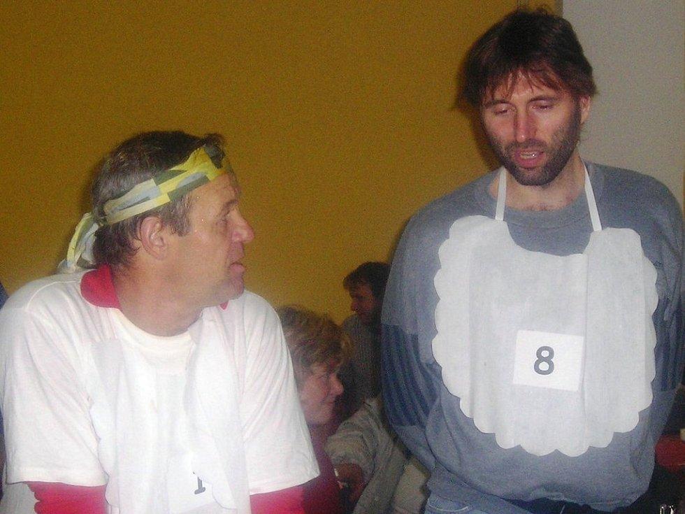 Vloni zůstal Kamil Hamerský (vpravo) na druhém místě