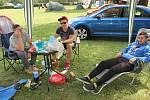 Rekreanti se ve veřejném tábořišti na Nové Živohošti cítí bezpečně.